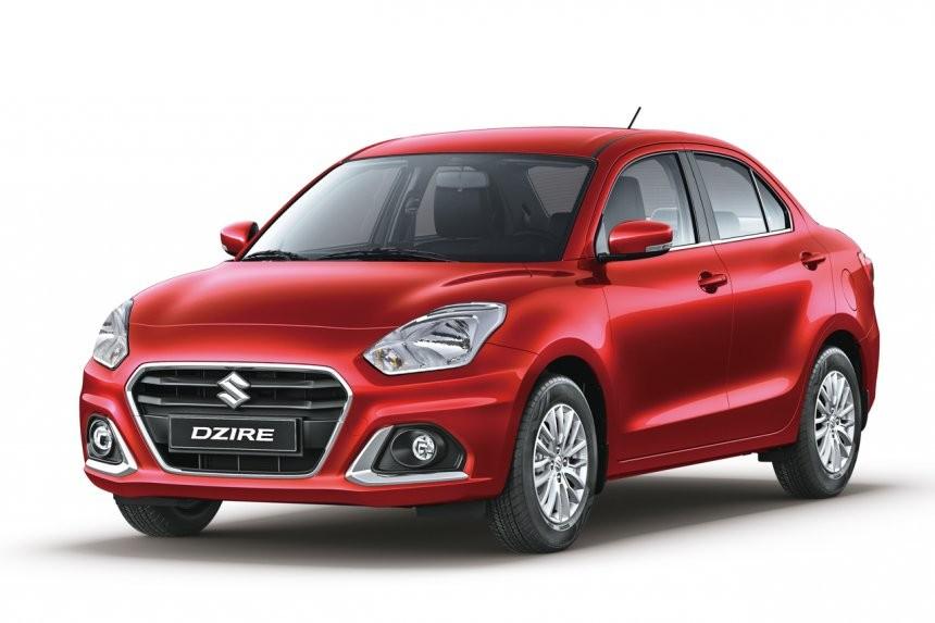 Suzuki Dzire 2021 bản GL+ màu đỏ mới