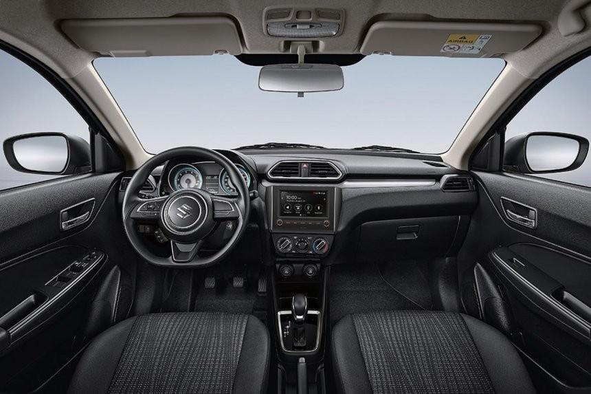 Nội thất bên trong Suzuki Dzire 2021