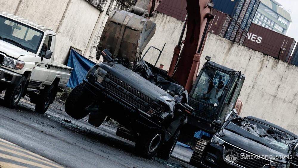 Chiếc xe bán tải Ford F-150 Raptor