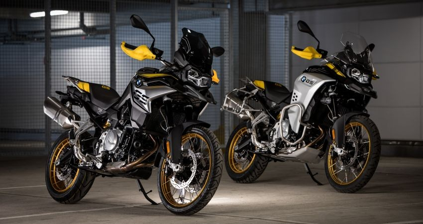 BMW F850GS 40 Years GS Edition