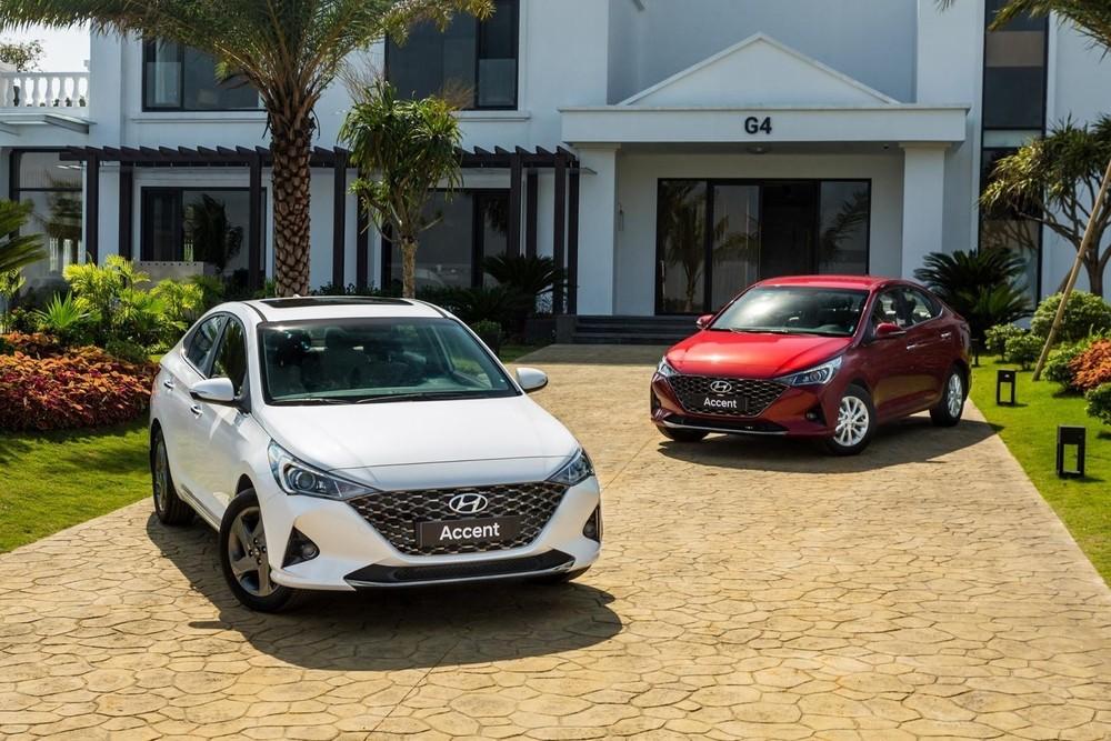 Sức bán giảm mạnh trong tháng 1/2021 nhưng Hyundai Accent vẫn bán được gần 1.800 xe.