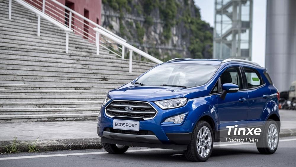Sức bán của Ford EcoSport giảm mạnh trong tháng 1/2021 dù được nhận một số ưu đãi nhẹ tại đại lý.
