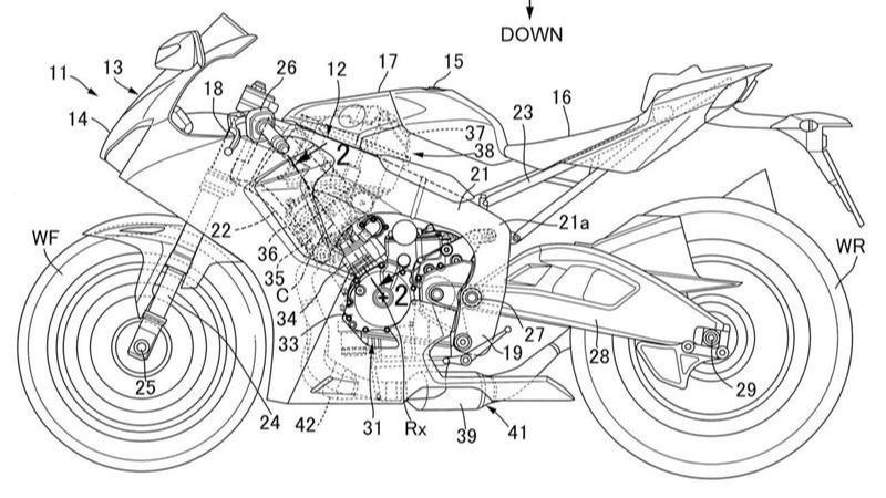 Công nghệ đốt nhiên liệu trước khi đưa vào buồng đốt được minh hoạ trên xe Honda CBR1000RR-R