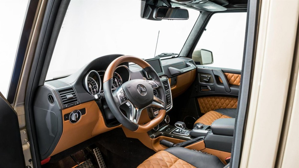 Nội thất của chiếcMercedes-Benz G63 AMG 6x6