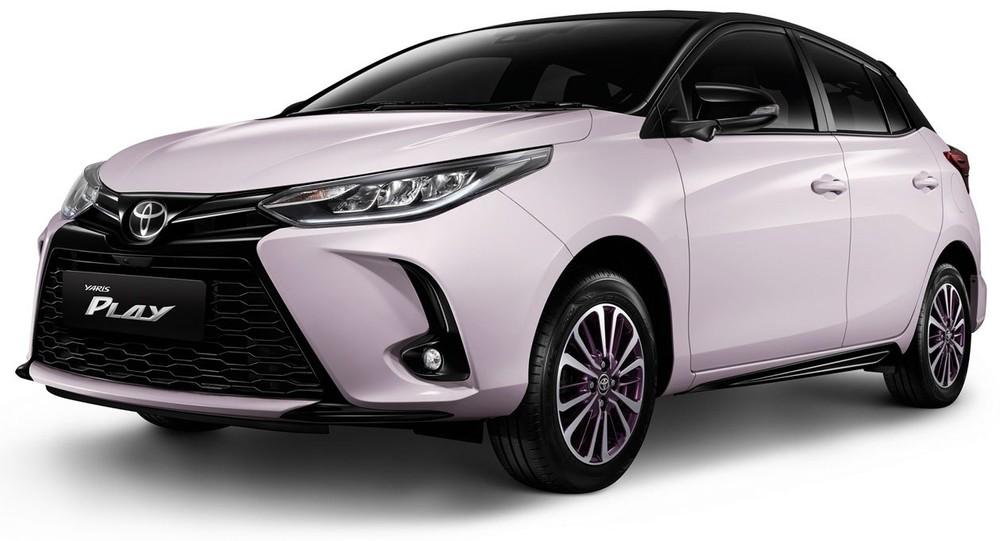 Toyota Vios PLAY và Yaris PLAY 2021 màu hồng mới