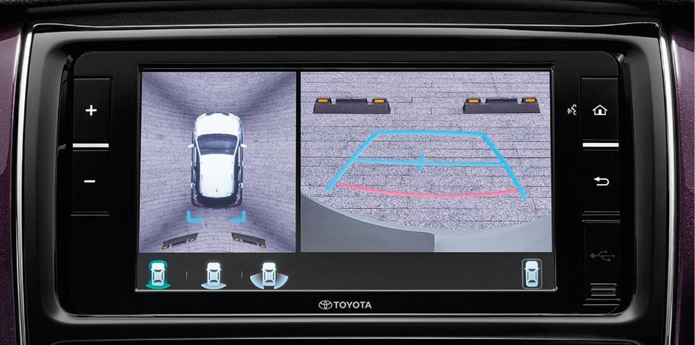 Camera 360 độ của Toyota Vios PLAY và Yaris PLAY 2021