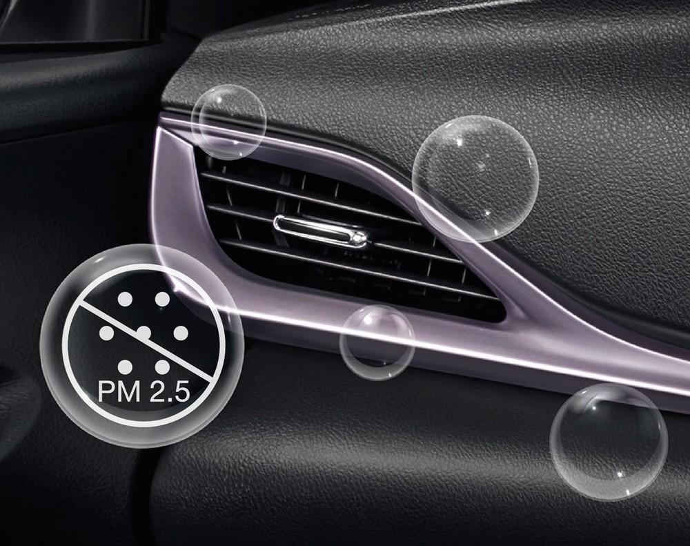 Toyota Vios PLAY và Yaris PLAY 2021 có hệ thống lọc không khí mới