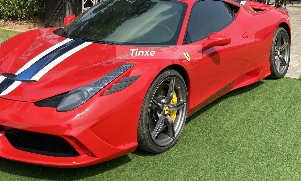 Ferrari 458 Speciale thiết kế khác biệt hoàn toàn so với bản tiêu chuẩn