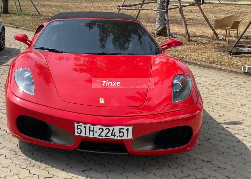 Doanh nhân Sài thành bổ sung bộ sưu tập Ferrari mui trần với chiếc F430 Spider