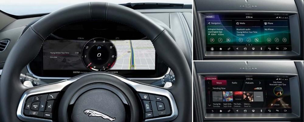 Nội thất, tiện nghi của Jaguar F-Type