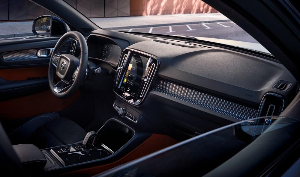Khoang lái tối giản, hiện đại của Volvo XC40