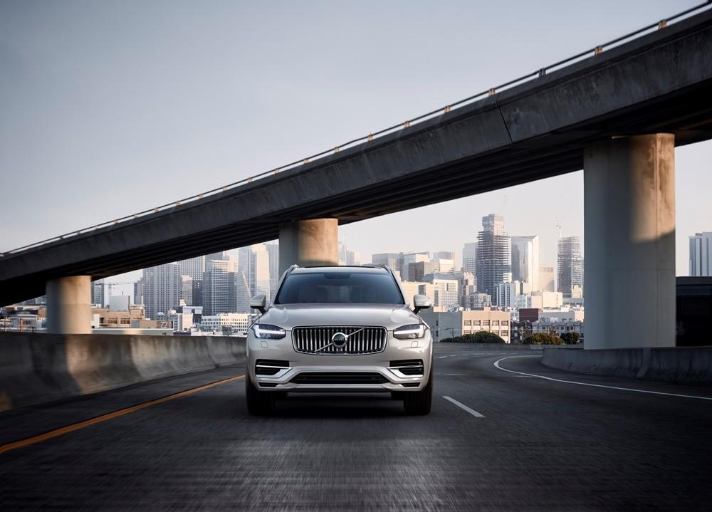 Thiết kế ngoại thất sang trọng của Volvo XC90 2021