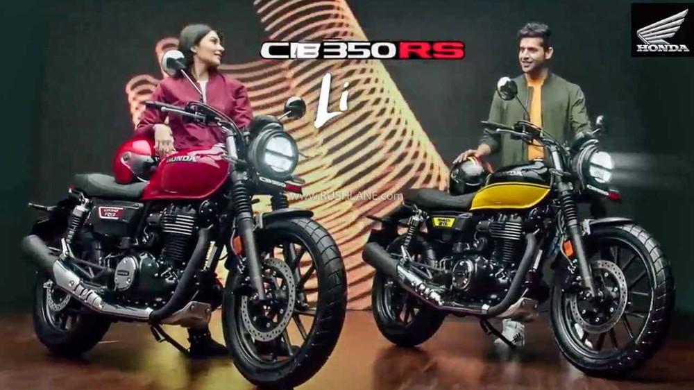 Honda CB350RS 2021 chính thức ra mắt