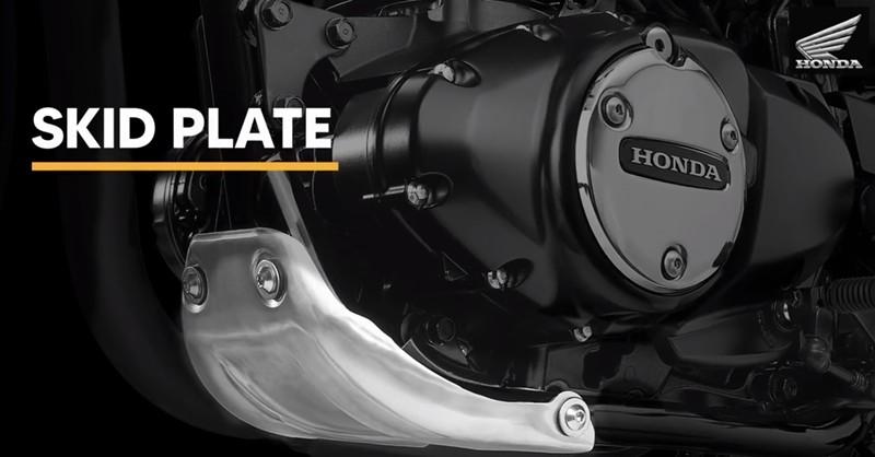 Ốp gầm mới trên Honda CB350RS 2021