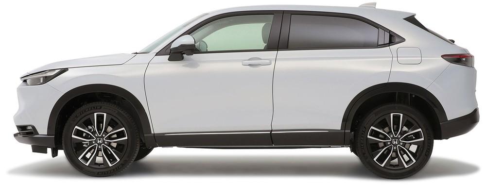 Thiết kế bên sườn của Honda HR-V 2021