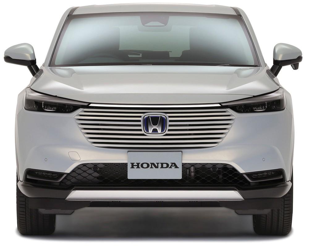 Thiết kế đầu xe mới của Honda HR-V 2021