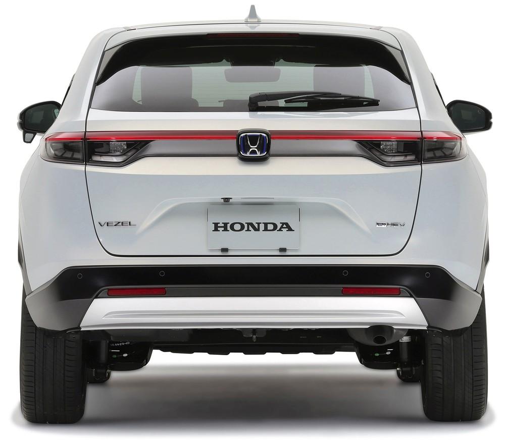 Honda HR-V 2021 được bổ sung cụm đèn hậu mới