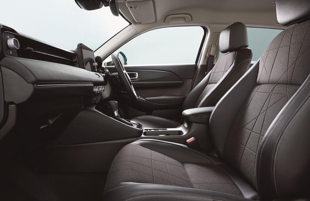 Hàng ghế trước của Honda HR-V 2021