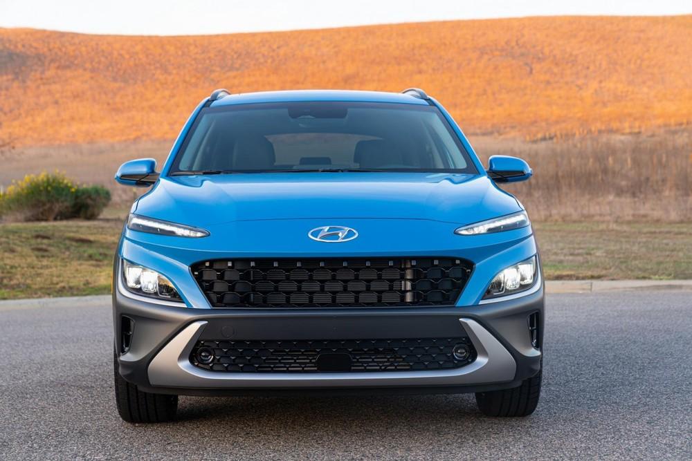 Hyundai Kona 2022 tại Mỹ có 2 tùy chọn động cơ
