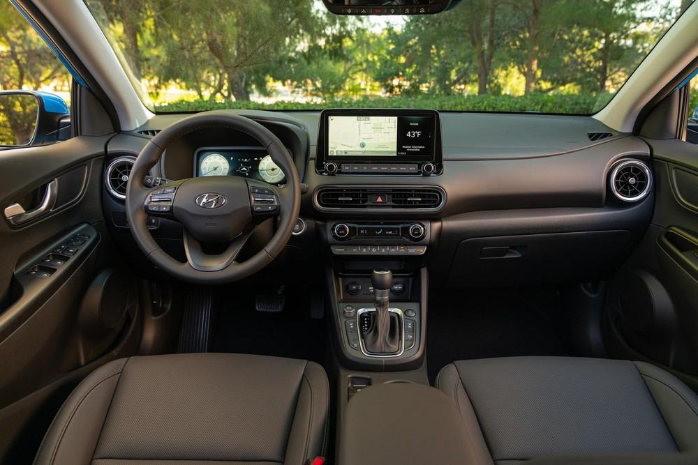 Nội thất bên trong Hyundai Kona 2022