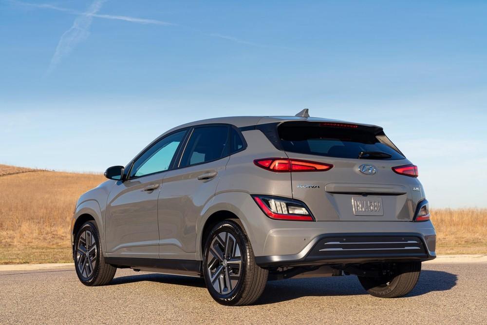 Hyundai Kona Electric 2022 mạnh 201 mã lực