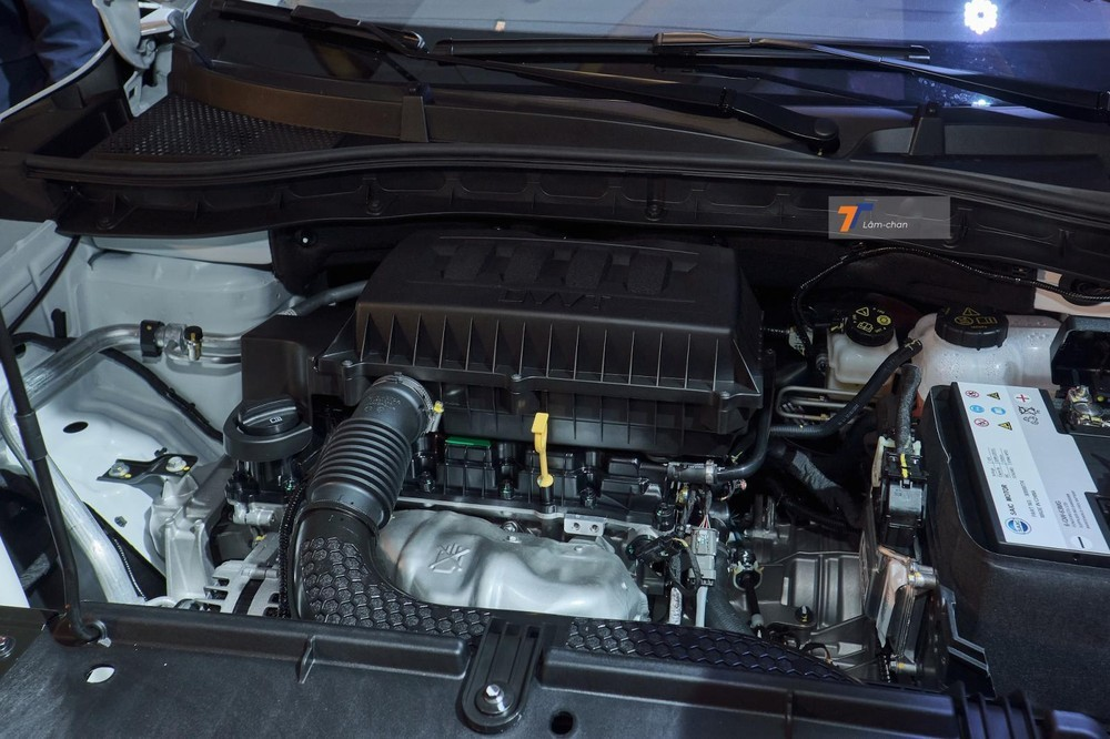 Động cơ xe MG ZS 2021.
