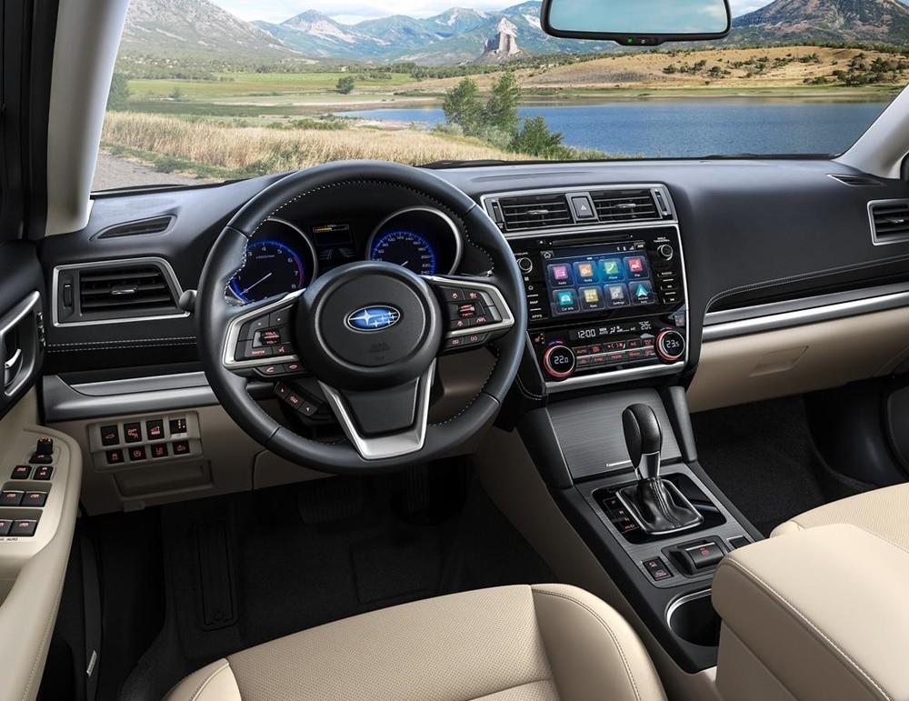 Nội thất của Subaru Outback 2021