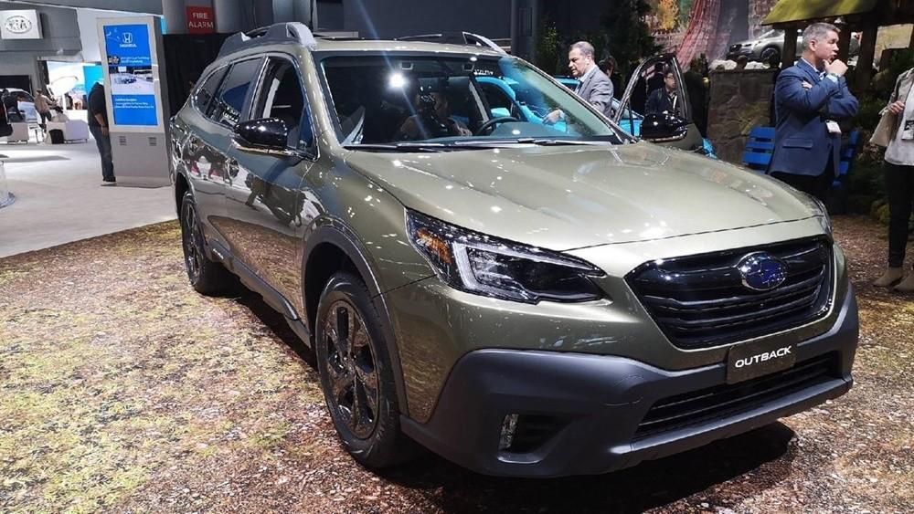 Ngoại thất của Subaru Outback 2021
