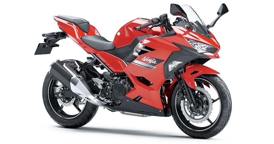 Kawasaki Ninja 250 2021 có màu mới tại Indonesia