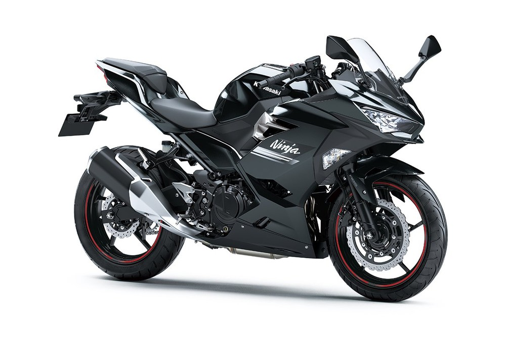 Kawasaki Ninja 250 2021 màu xám ánh kim