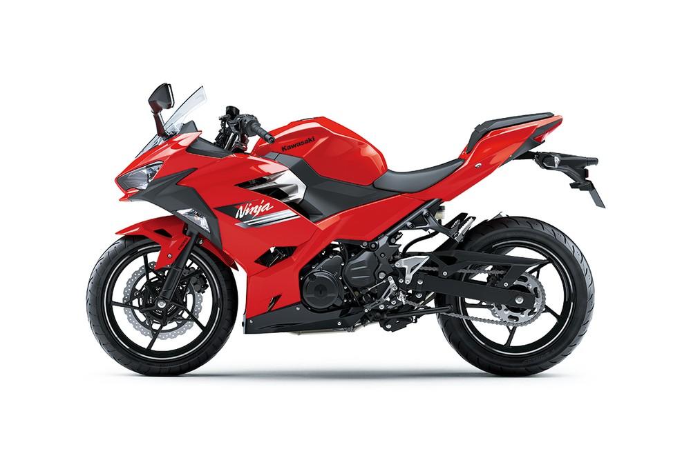 Màu đỏ mới trên Kawasaki Ninja 250 2021