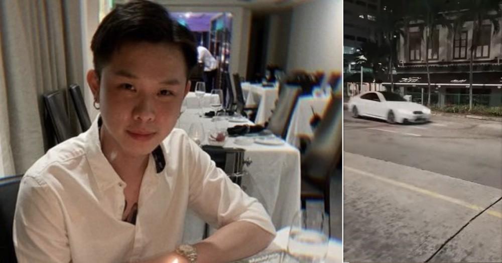 Anh Long là người lái chiếc BMW M4 khi vụ tai nạn xảy ra