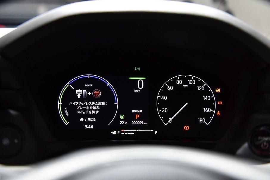 Bảng đồng hồ của Honda HR-V 2021