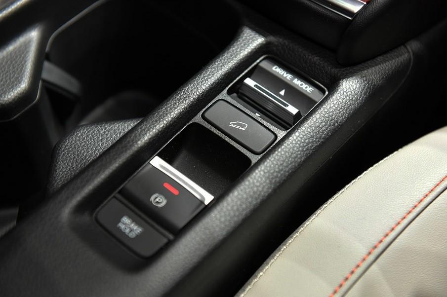 Nút chọn chế độ lái của Honda HR-V 2021