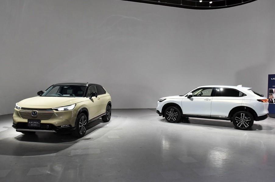Honda HR-V 2021 ra mắt tại Nhật Bản