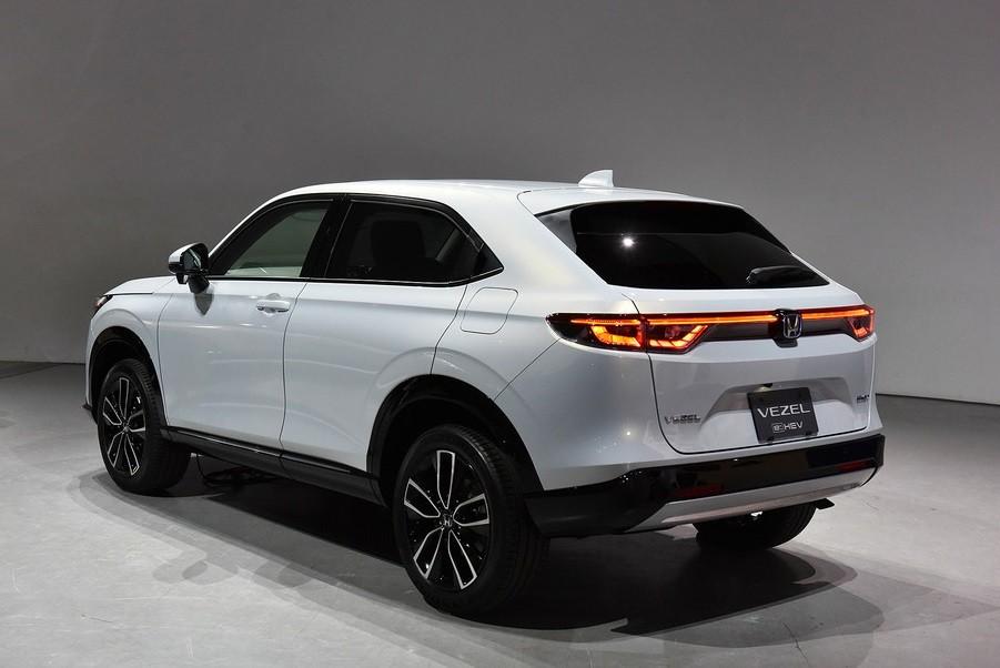 Honda HR-V 2021 có 2 tùy chọn động cơ