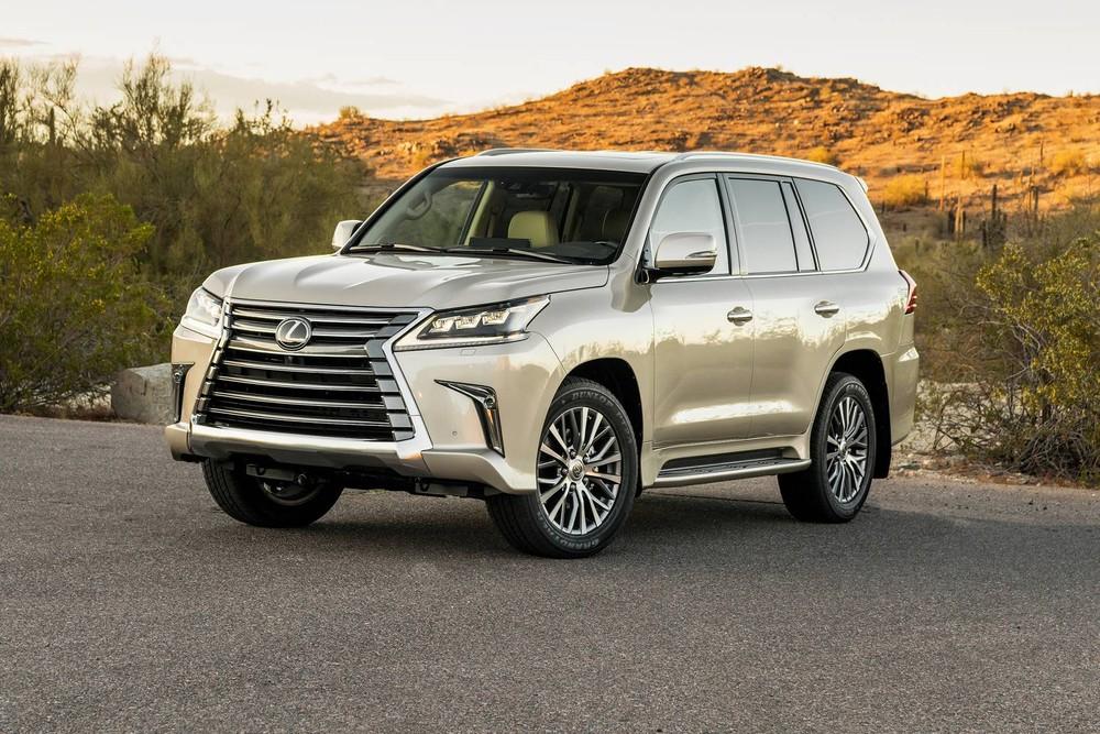 Lexus là hãng xe đáng tin cậy nhất tại thị trường Mỹ năm nay