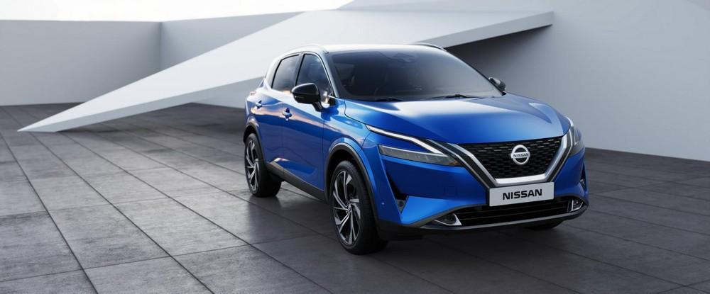 Nissan Qashqai 2021 chịu ảnh hưởng thiết kế từ đàn anh X-Trail mới