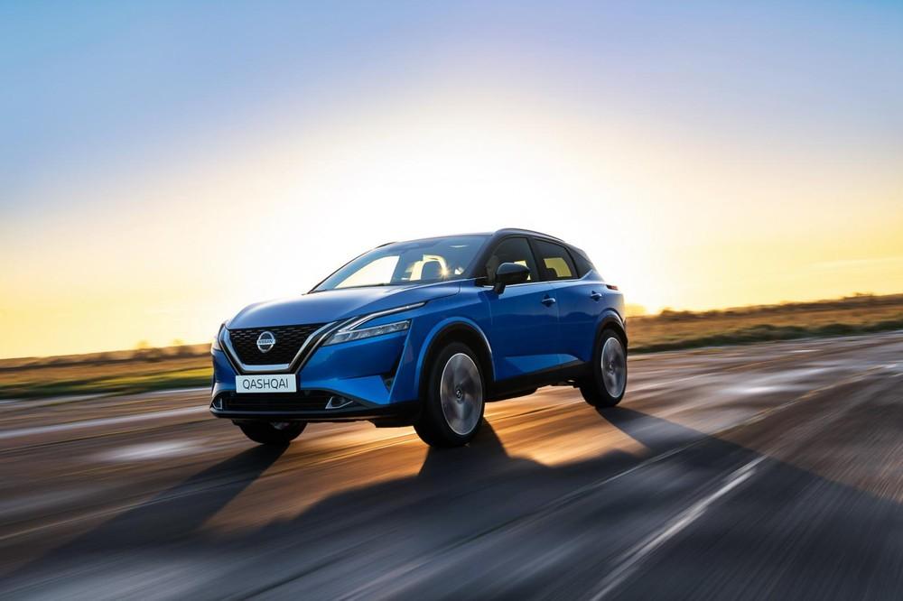 Nissan Qashqai 2021 tăng kích thước so với trước