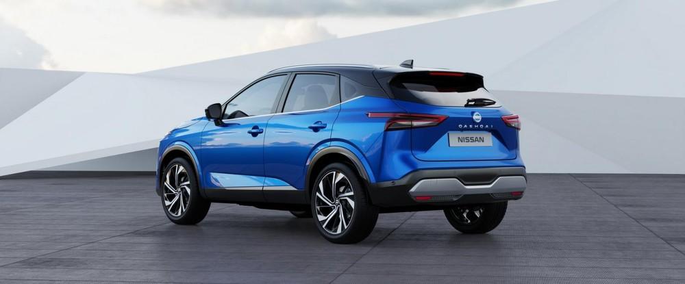 Nissan Qashqai 2021 dùng chung cơ sở gầm bệ với X-Trail