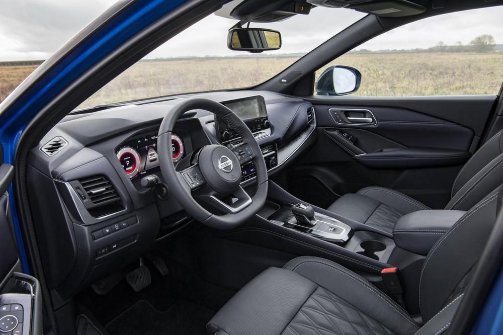 Nissan Qashqai 2021 có tầm nhìn tốt hơn