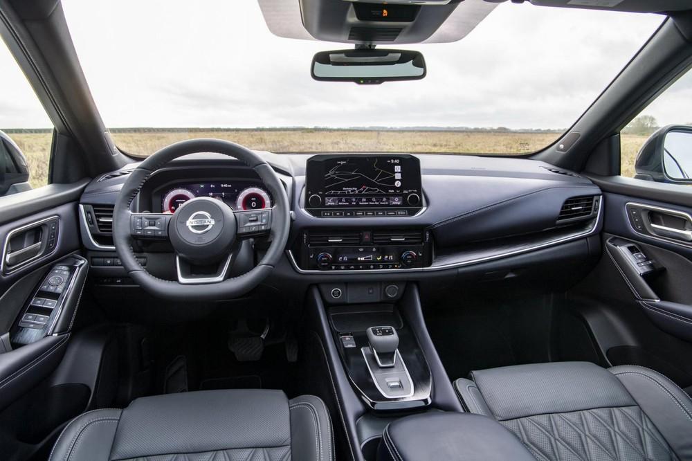 Nội thất bên trong Nissan Qashqai 2021