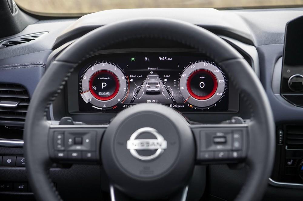 Bảng đồng hồ của Nissan Qashqai 2021