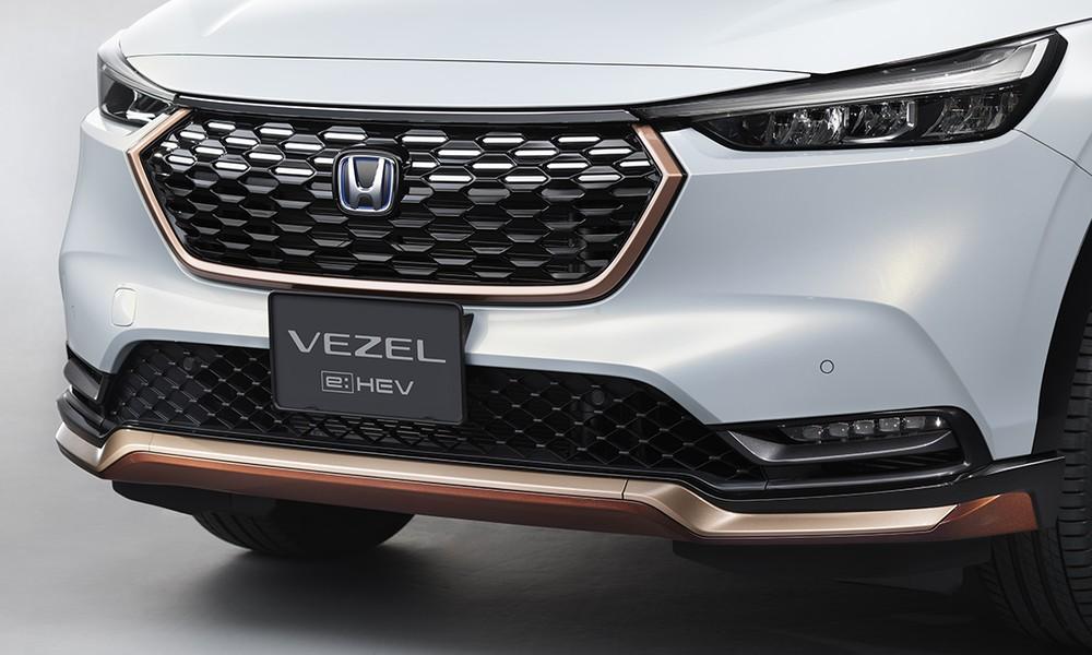Những chi tiết màu đồng trong gói Casual Style của Honda HR-V 2021
