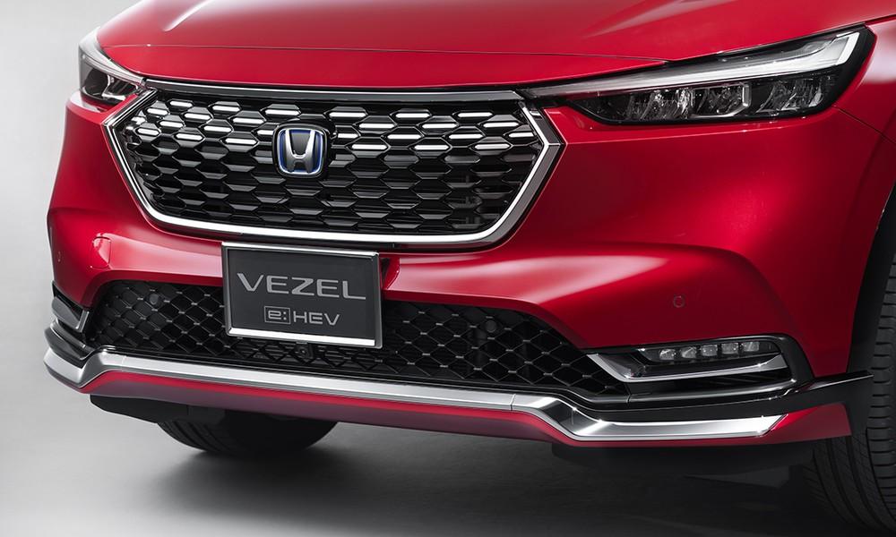 Lưới tản nhiệt của Honda HR-V 2021 khi lắp gói Urban Style