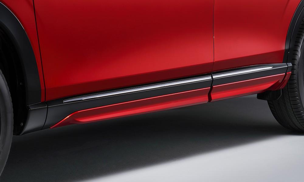 Ốp bên sườn của Honda HR-V 2021 khi lắp gói Urban Style