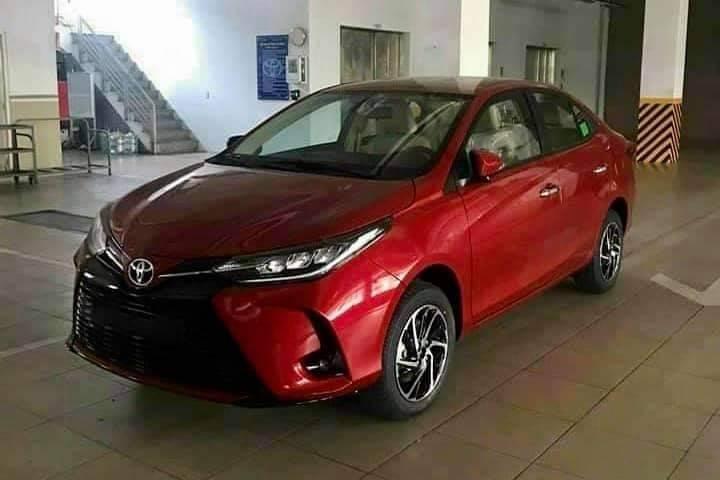 Toyota Vios 2021 đã về tới đại lý trước ngày ra mắt.