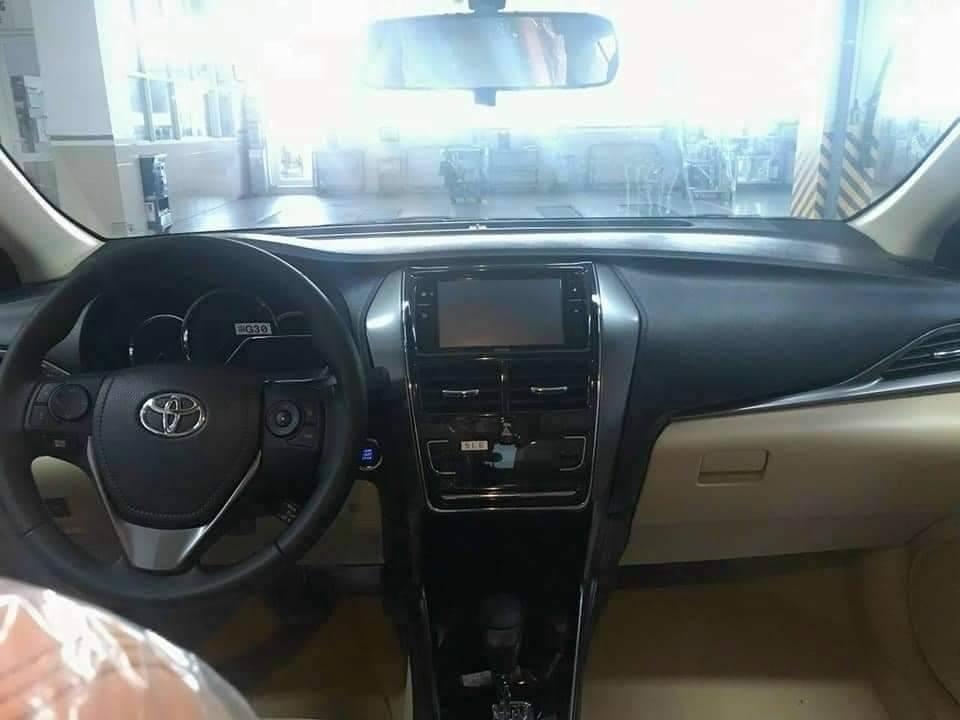 Nội thất phiên bản G của Toyota Vios 2021.