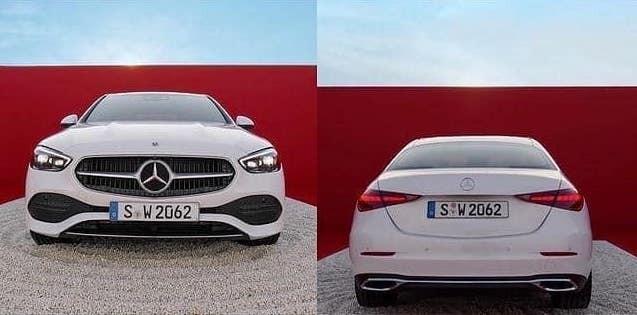 Mercedes-Benz C-Class 2022 dùng lưới tản nhiệt với nan nhỏ nằm dọc