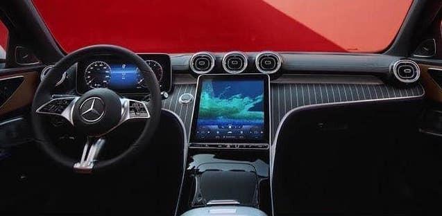 Nội thất bên trong Mercedes-Benz C-Class 2022
